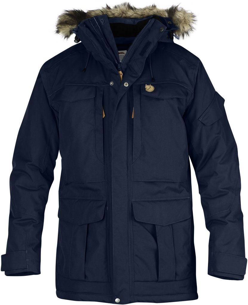 FjallRaven - Yupik Parka Dark Navy - Isolation & Winter Jackets - XL