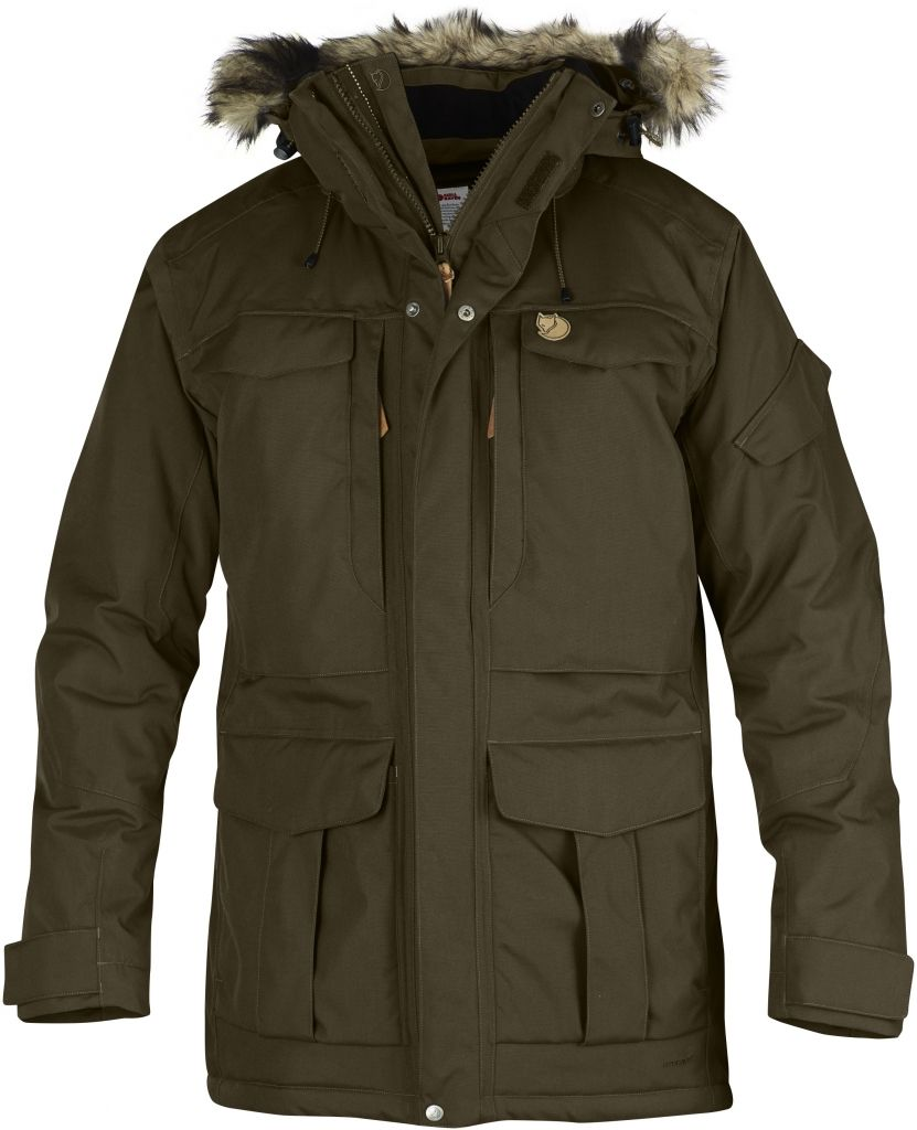 FjallRaven - Yupik Parka Dark Olive - Isolation & Winter Jackets - XL
